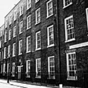 verulam buildings grays inn London England UK Poster