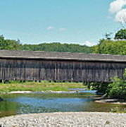 Very Long Covered Bridge Poster