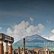Vesuvius Poster by Marion Galt