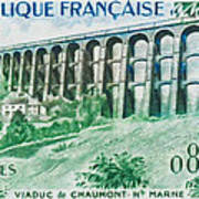 Viaduct Chaumont Haute-marne Poster