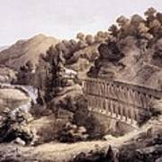 Viaduct On Cheat River, From Album Poster