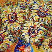 Vibrant Sunflower Essence Poster