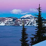 Vibrant Winter Sky Poster