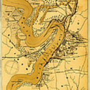Vicksburg And Its Defenses Poster