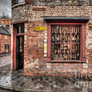 Victorian Corner Shop Poster by Adrian Evans