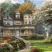 Victorian Home Poster