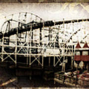 Victorian Roller Coaster Poster