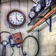 Victorian Train Memorabilia Poster