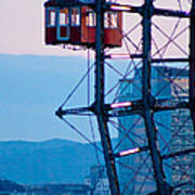 Vienna Ferris Wheel Poster by Viacheslav Savitskiy