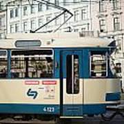 Vienna Tram Poster