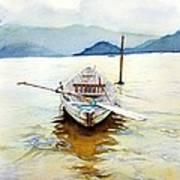 Vietnam Boat Poster