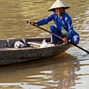 Vietnamese Boatwoman 01 Poster