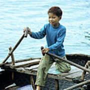 Vietnamese Boy Poster