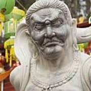 Vietnamese Temple Statue Poster