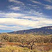 View Across The Rio Grande River Huge Panorama Poster