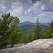 View From A Mountain In A Vermont Poster