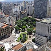 View From Edificio Martinelli 3 - Sao Pulo Poster