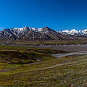 View From Eielson Poster