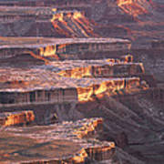 View From Grandview Point Canyonlands Poster