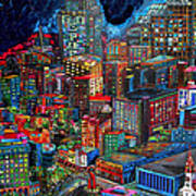 View From Hemisphere Poster by Patti Schermerhorn
