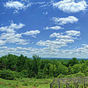 View From Monticello Poster