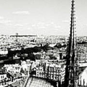 View From Notre Dame Poster