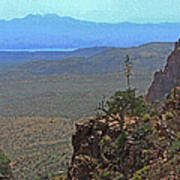 View From Parker Creek Canyon Poster