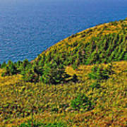 View From Skyline Trail In Cape Breton Highlands Np-ns Poster