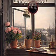 View From The Artist's Window Poster