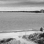 View From The Fort Gratiot Light House Poster