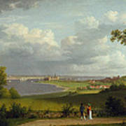 View North Of Kronborg Castle Poster