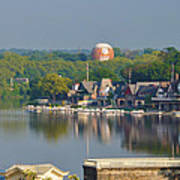 View Of Boathouse Row  Poster
