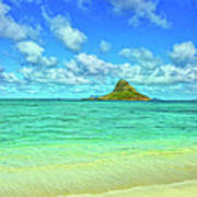 View Of Chinaman's Hat Poster