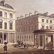 View Of Cross Bath, Bath Street Poster