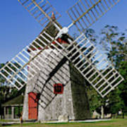 View Of Eastham Windmill, Eastham, Cape Poster