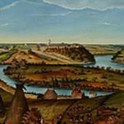 View Of Fort Snelling Poster by Edward K Thomas