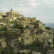 View Of Gordes Poster