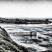 View Of La Jolla From Torrey Pines Cliffs Poster