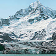 View Of Margerie Glacier In Glacier Bay Poster