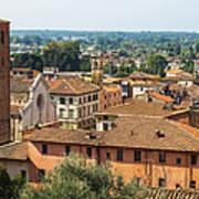 View Of Pietrasanta Poster