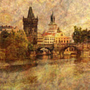 View Of Prague Poster
