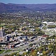 View Of Roanoke Va Poster