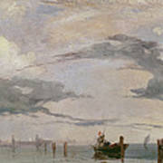 View Of The Lagoon Near Venice, 1826  Poster