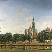 View Of The Westerkerk Amsterdam Poster