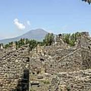 View Of Vesuvius Poster