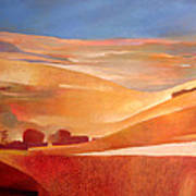 View Oil On Canvas Poster