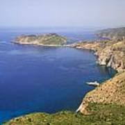 View Over To Assos Poster