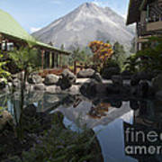 Viewing Arenal Volcano Poster