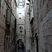 Views From Split Croatia Poster