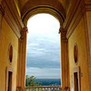 Villa Deste Tivoli Italy Poster